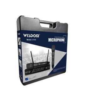 Mic Wireless Wisdom u133 Original Garamsi resmi 1 Tahun